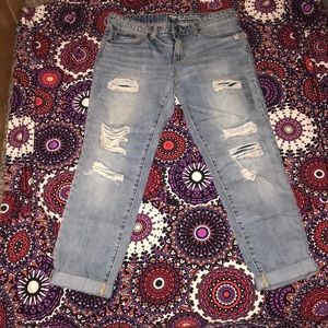 gap sexy boyfriend fit jeans size 6